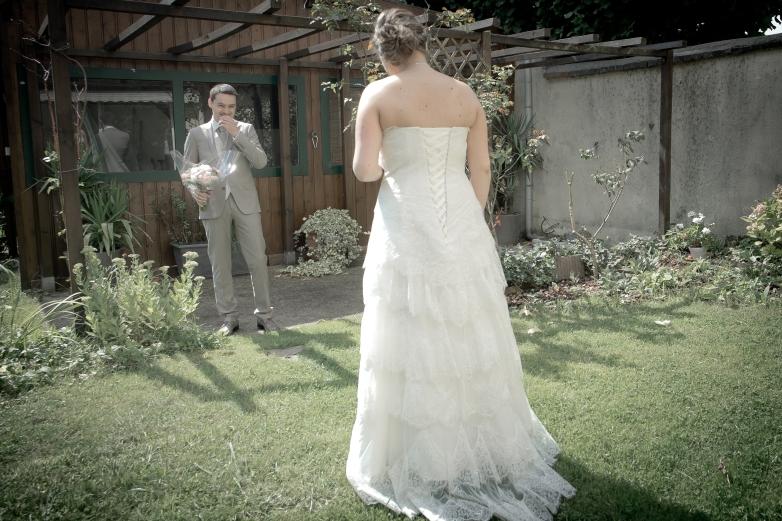Quand Ben découvre sa future mariée !